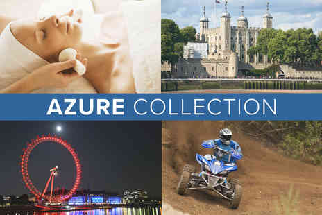 Virgin Experience Days - The Azure Collection - Save 0%