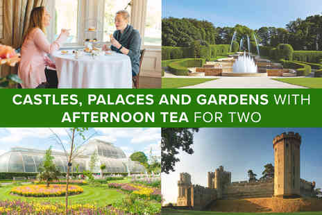 Virgin Experience Days - Castles, Palaces and Gardens with Afternoon Tea for Two - Save 0%
