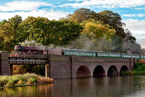 Virgin Experience Days - Great Central Railways Steam Train Afternoon Tea Experience for Two - Save 0%
