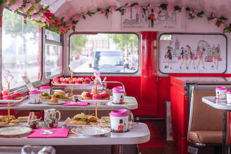 Virgin Experience Days - B Bakery Vintage Afternoon Tea Bus Tour for Two - Save 0%