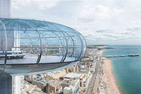 Virgin Experience Days - British Airways i360 Flight and Vintage Afternoon Tea for Two - Save 0%