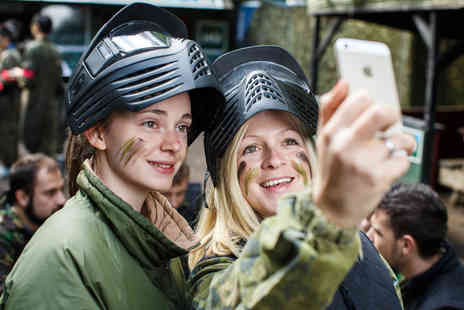 Virgin Experience Days - Full Day Paintballing for Two - Save 0%