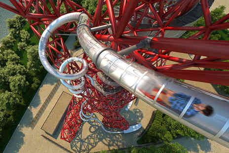 Virgin Experience Days - Skyline Views and The Slide at The ArcelorMittal Orbit for One Adult and One Child - Save 0%