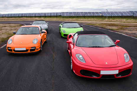 Virgin Experience Days - Four Supercar Blast - Save 39%