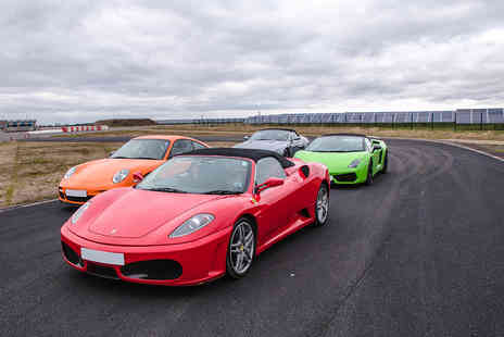 Virgin Experience Days - Four Supercar Blast plus High Speed Passenger Ride and Photo - Save 46%
