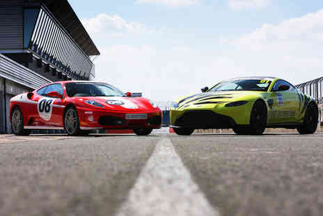 Virgin Experience Days - Silverstone Head to Head Supercar Experience  Morning - Save 12%