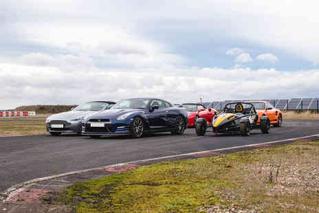 Virgin Experience Days - Five Supercar Blast at Top Uk Race Tracks - Save 50%