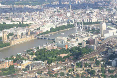 Virgin Experience Days - City of London Helicopter Sightseeing Tour for Two - Save 14%