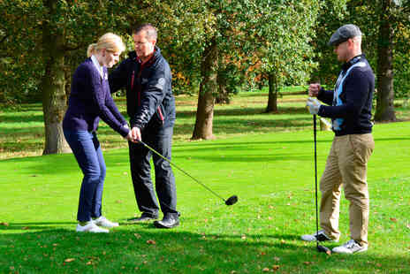 Virgin Experience Days - 60 minute Golf Lesson with a PGA Professional - Save 0%