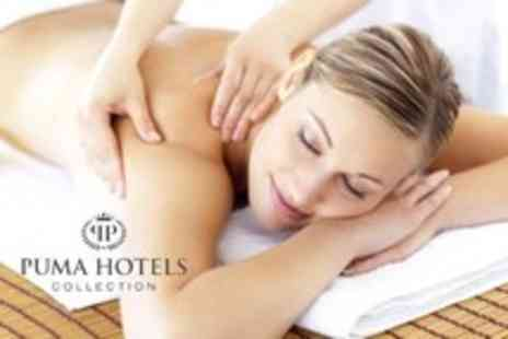 Puma Hotels - Spa day including choice of 2 treatments, lunch & health club access - Save 57%