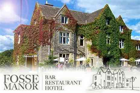 Fosse Manor Hotel - One Night Stay For Two With Breakfast - Save 57%