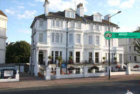 The Devonshire Park Hotel - Overnight Eastbourne stay with breakfast and three course dinner - Save 55%