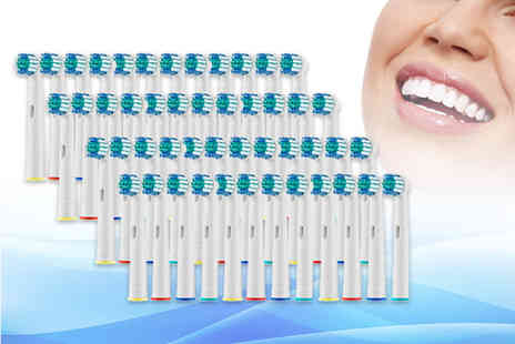 Domo Secret - Set of 48 OralB compatible toothbrush heads - Save 0%