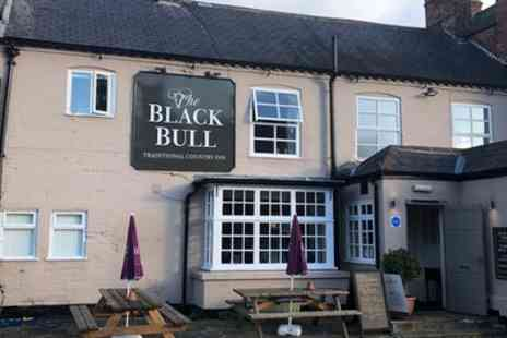 The Black Bull - 1 To 3 Nights Stay in Double or Twin Room for Two with Breakfast - Save 39%