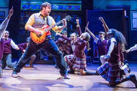 Virgin Experience Days - School of Rock Top Priced Theatre Tickets and Dinner for Two - Save 0%