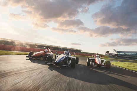 Virgin Experience Days - Formula Silverstone Single Seater Thrill and Three Course Meal with Wine - Save 0%
