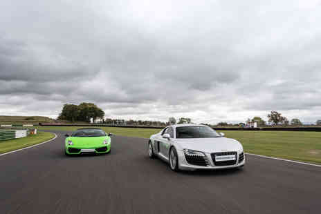 Virgin Experience Days - Double Supercar Blast plus High Speed Passenger Ride and Photo - Save 44%