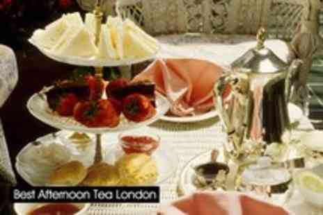 Knightsbridge Green Hotel - Afternoon tea for 2 including glass of champagne, sandwiches, scones & pastries - Save 59%