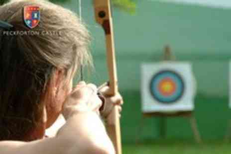 Peckforton Castle - 90 Minute archery and rifle shooting experience for One - Save 56%