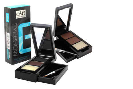 GetGorgeous - Pro eyebrow compact mirror palette choose from two shades - Save 85%