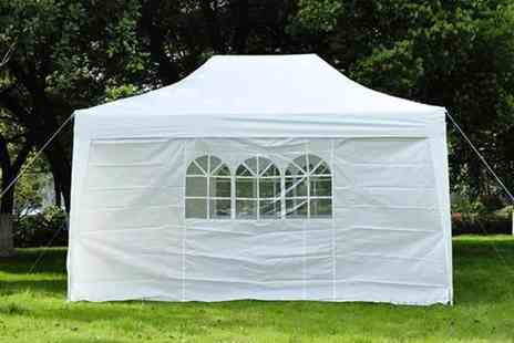 Mhstar - Pop up gazebo choose from five colours - Save 48%