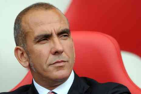 An Evening with Paolo Di Canio - One ticket to an evening with Paolo Di Canio on 24 March - Save 45%