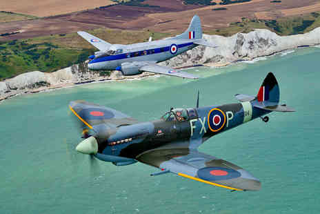 Virgin Experience Days - Fly Alongside a Spitfire White Cliffs of Dover Tour - Save 0%
