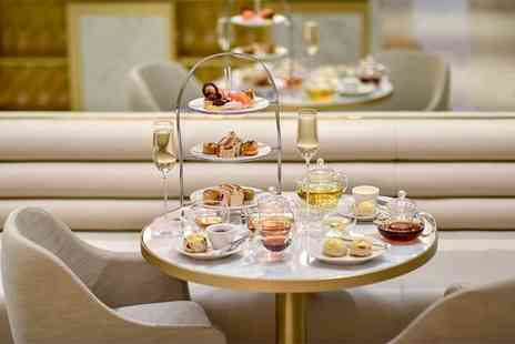 Royal Lancaster London - Afternoon tea for two with a bottle of Champagne to share - Save 46%