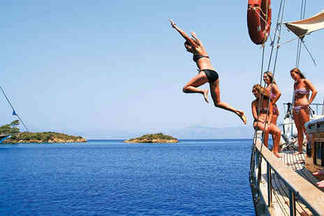 Medsail Holidays AB - Full board seven nights Stay Turkey Mediterranean coastline yacht cruise - Save 32%