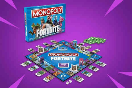 Excess Retail - Fortnite Monopoly board game - Save 44%