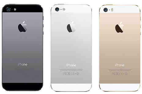 Rhinotek - Unlocked Apple iPhone 5S With 16Gb, 32Gb or 64Gb Choose Two Colours - Save 75%