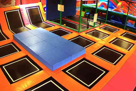 Airobounce - Two hour bounce session - Save 44%
