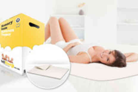 Soft Sleep - single memory foam mattress topper - Save 71%
