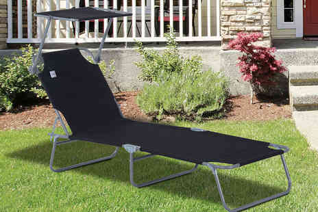 Mhstar - Outsunny adjustable sun bed choose from three colours - Save 59%