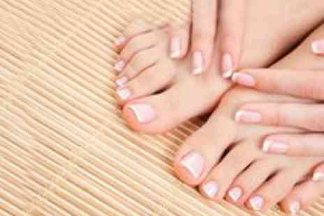Jannat Spa - London Shellac Manicure and Pedicure - Save 60%