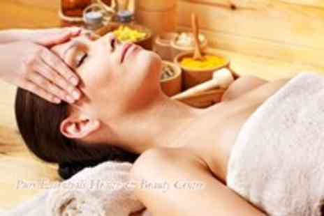 Pure Essentials - 1hr facial, face massage & colour therapy - Save 70%