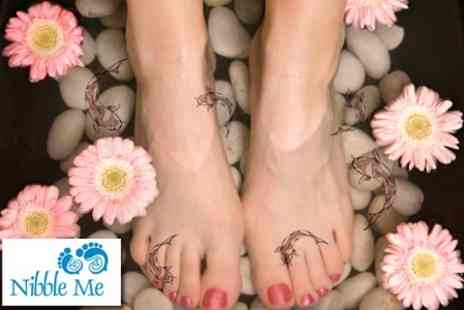 Nibble Me - Garra Rufa Fish Pedicure - Save 53%