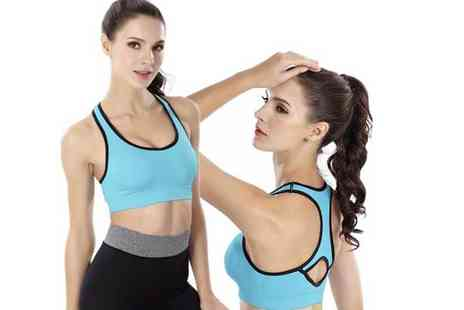 Paperdollz - Max support sports bra, or a pack of three bras choose between two colours - Save 65%
