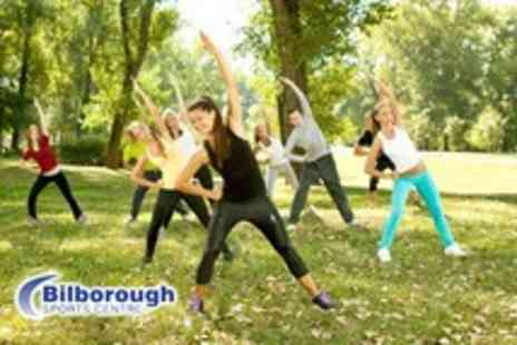 Bilborough Sports Centre - Five 1 hour outdoor fitness classes - Save 53%