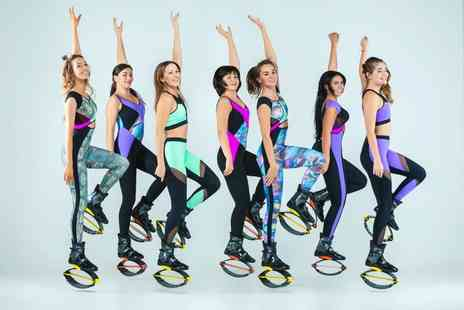 Kangoo Jumps - Two kangoo jumps fitness classes - Save 55%