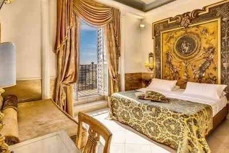 Hotel Romanico Palace - Four star Ornate Hotel near the Spanish Steps for two - Save 80%