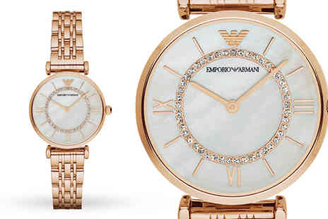 Ticara Watches - Ladies Emporio Armani AR1909 watch - Save 68%
