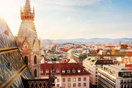 Broadway Travel - Three nights Vienna getaway with flights and breakfast - Save 0%