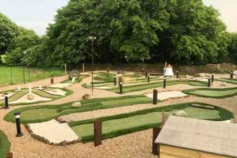 Broxbourne Par 3 Golf Club - 18 Hole Crazy Golf for Two with Optional Two Children - Save 33%