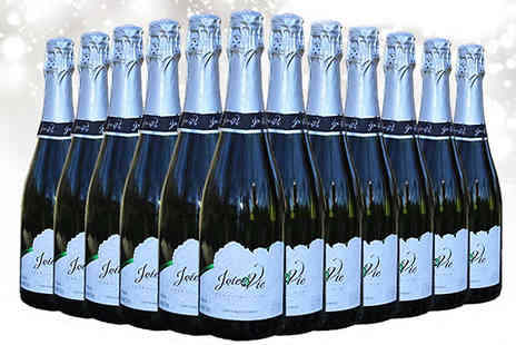 All My Wine - 12 Bottles of Joi de Vie Sparkling Wine - Save 72%