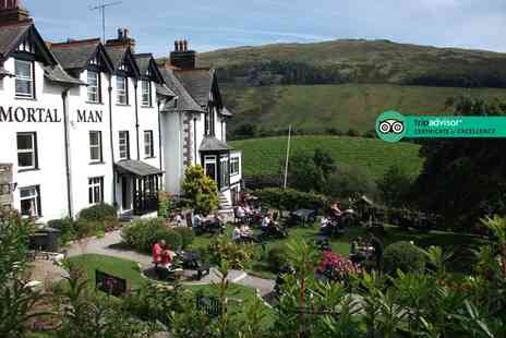 The Mortal Man - Overnight Lake District stay for two people with continental breakfast - Save 27%