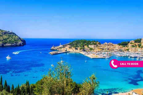 Blue Sea Holidays - Three nights all inclusive Mallorca holiday with return flights - Save 25%