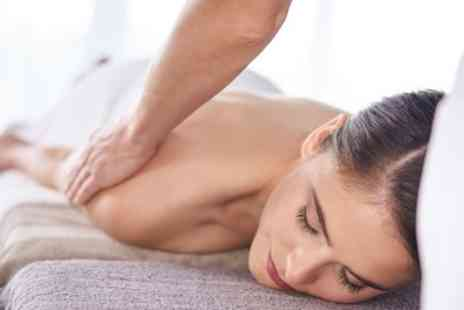 Your Body Business - Back, Neck and Shoulders or Full Body Massage with an Express Facial - Save 55%