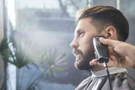 Princess Hair Style - Mens Cut and Beard Trim, Cut and Blow Dry or Brazilian Blow Dry - Save 60%