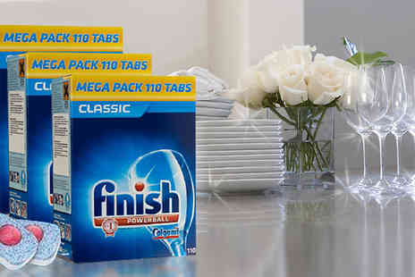 JAOYEH IRELAND - Finish Powerball Dishwasher Tablets 110, 220, 330 or 440 - Save 57%